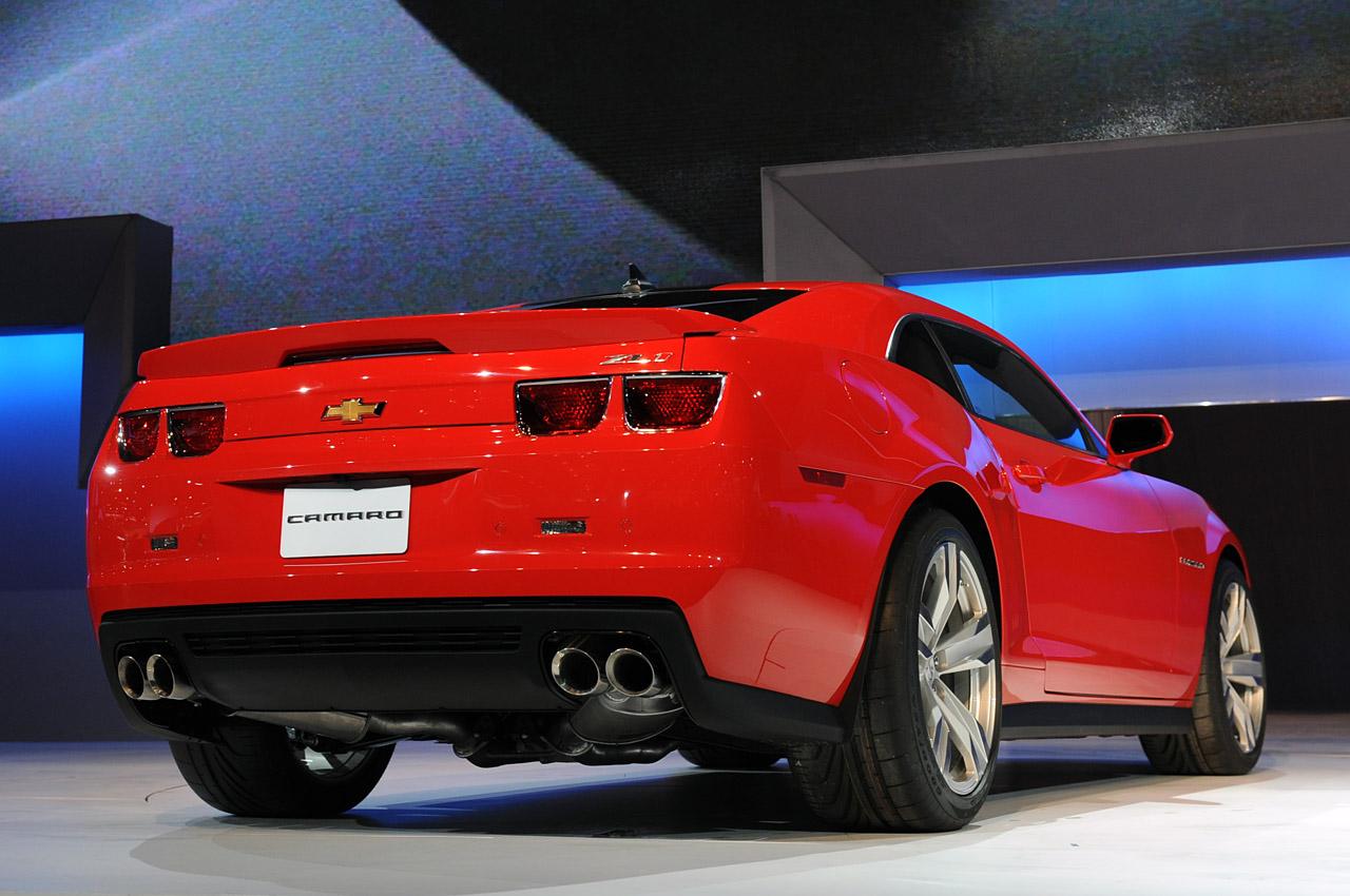 2011 Camaro For Sale >> 2012 Chevrolet Camaro ZL1 to get 570hp-plus (425kW) | PerformanceDrive