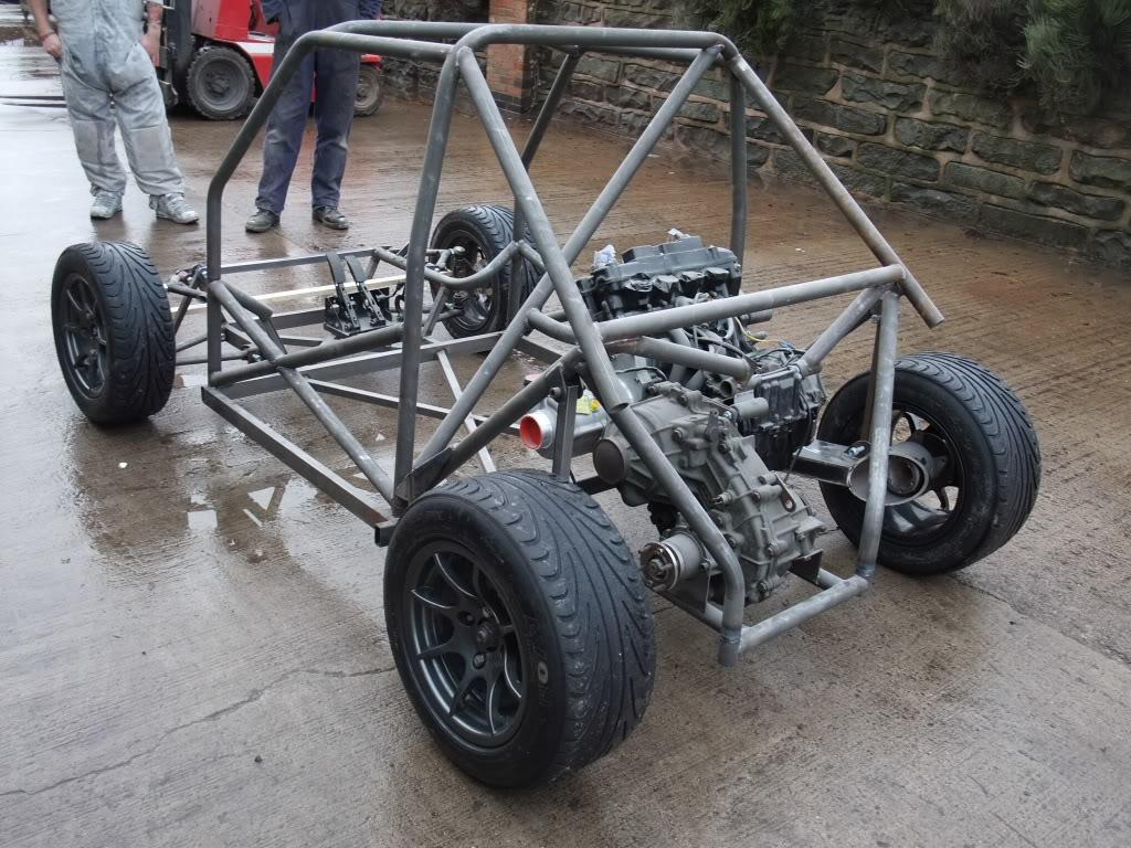 Fiat 126 with supercharged 1100cc Honda Blackbird engine | PerformanceDrive