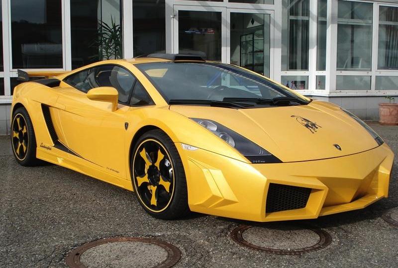 Lamborghini Gallardo Galaxy Warrior kit: yuck ...