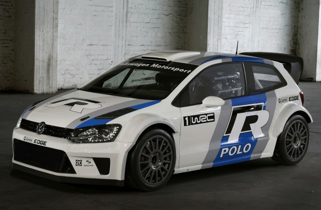 2013 Volkswagen Polo R Wrc Rally Car Unveiled At Frankfurt Show