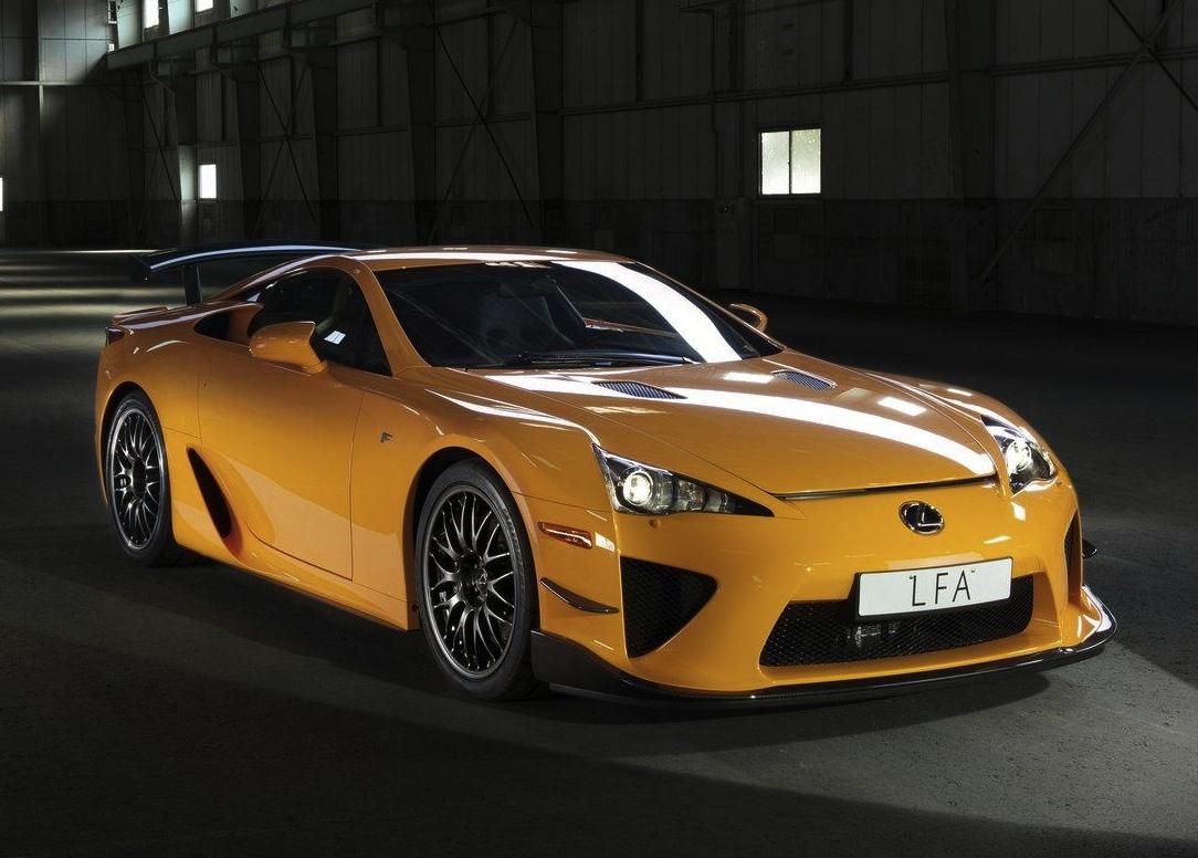 Lexus Lfa Nurburgring Edition Laps Nordschleife In 7 14