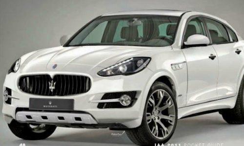 Maserati SUV revealed in Frankfurt show pocket guide