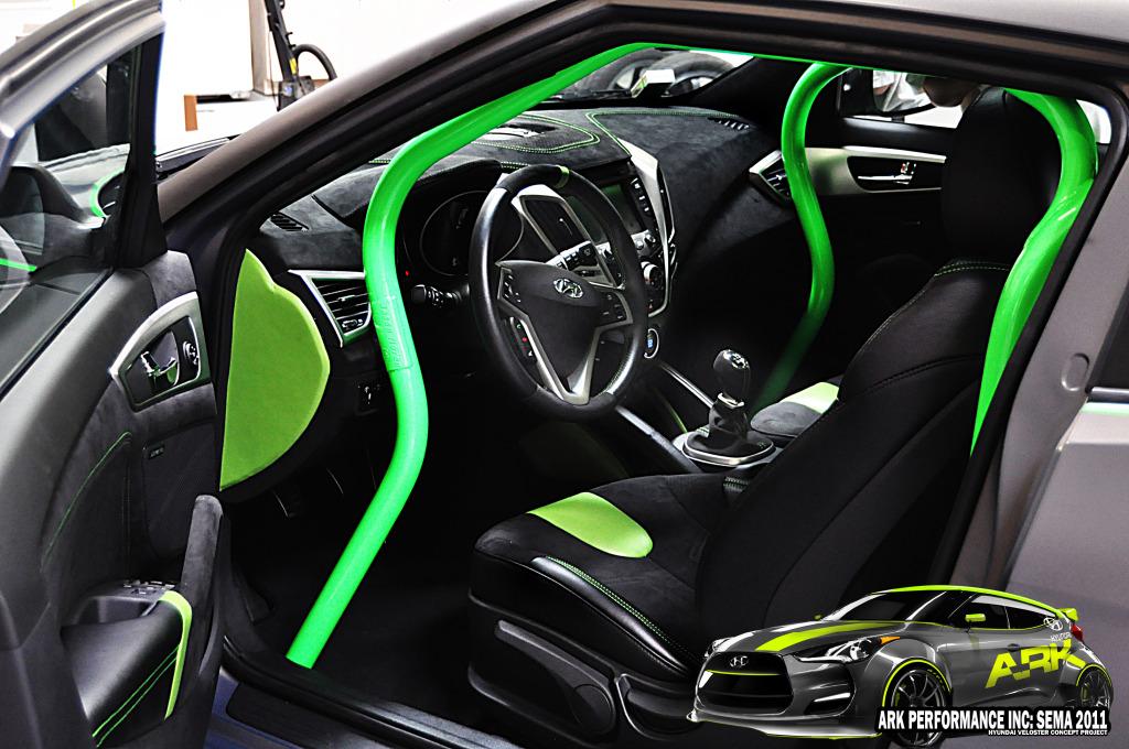 Ark performance hyundai veloster turbo unveiled ahead of - Hyundai veloster interior accessories ...