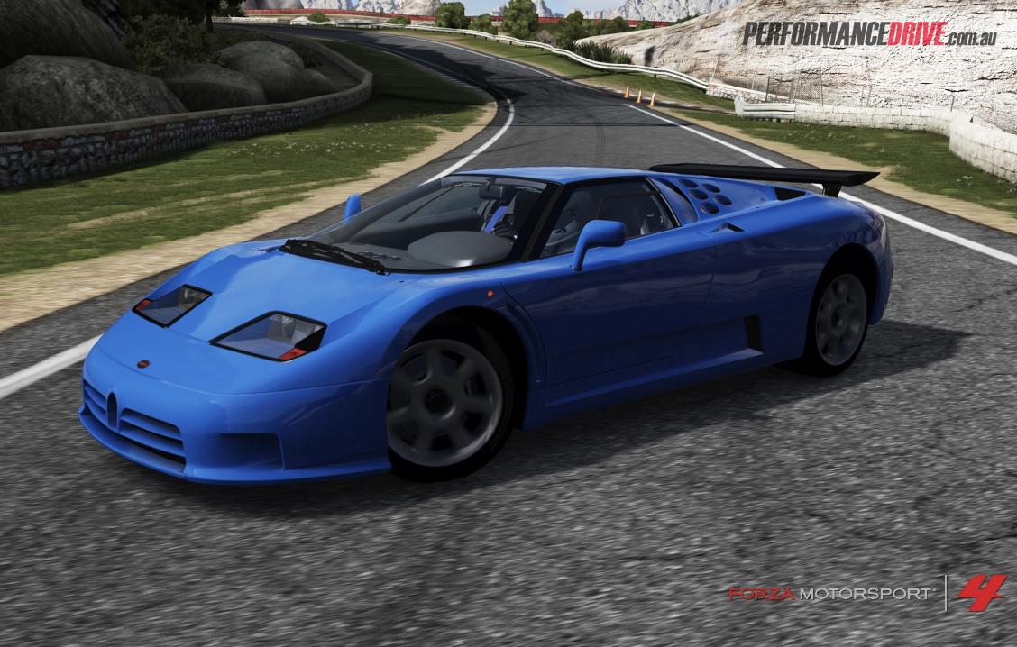 Bugatti Eb110 Forza 4