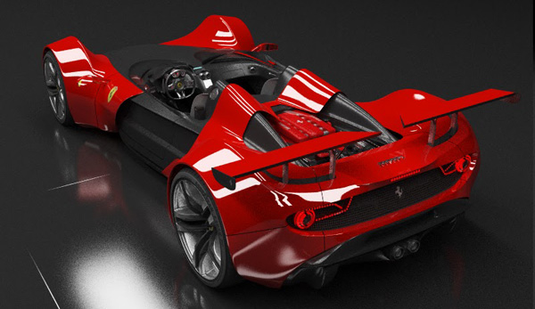 Ferrari Celeritas Concept Study Inspired By Early F1