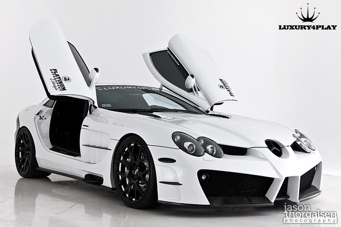 Renntech Mercedes Benz Slr Mclaren Fastest In The World