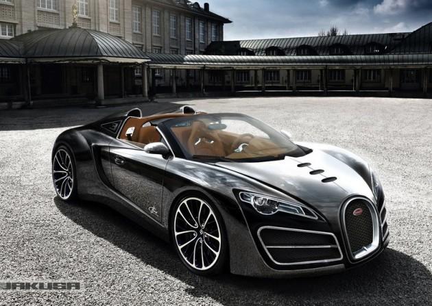 Bugatti Ettore Grand Sport Concept Rendered As Veyron