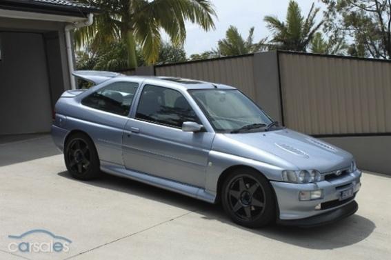 sale ford escort rs cosworth  australia