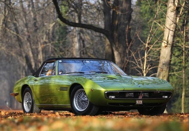 For Sale: 1971 Maserati Ghibli SS Spider by Ghia ...