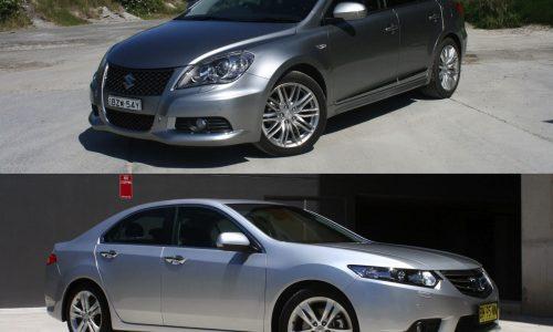2012 Honda Accord Euro vs 2012 Suzuki Kizashi Sport AWD: comparison