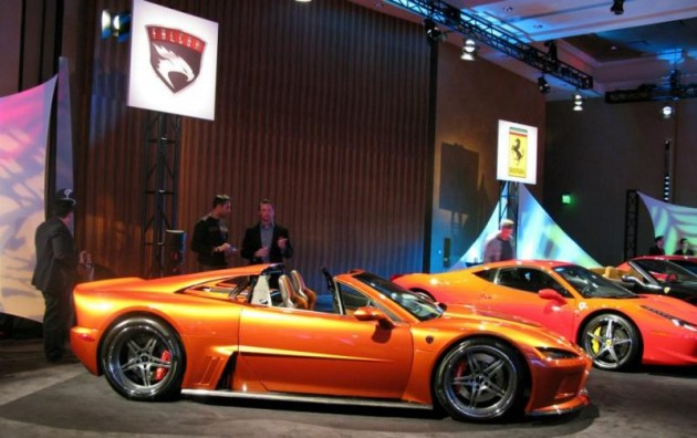 Falcon F7 Chev LS7-powered supercar unveiled at Detroit show