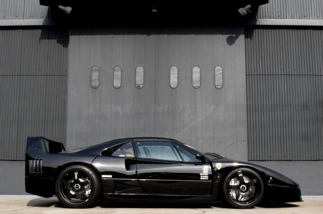 Ferrari F40 For Sale >> For Sale: 1991 Ferrari F40 stunning black on black ...