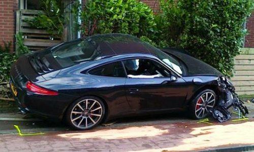2012 991 Porsche 911 crash – the first?