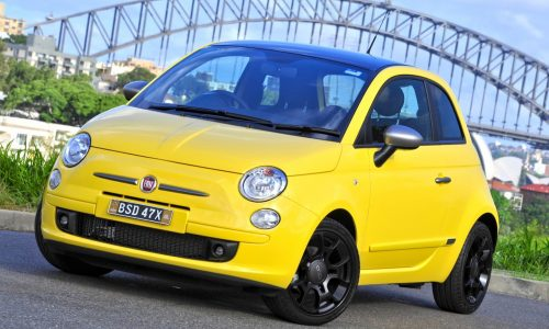 2012 Fiat 500 TwinAir two-cylinder turbo on sale in Australia