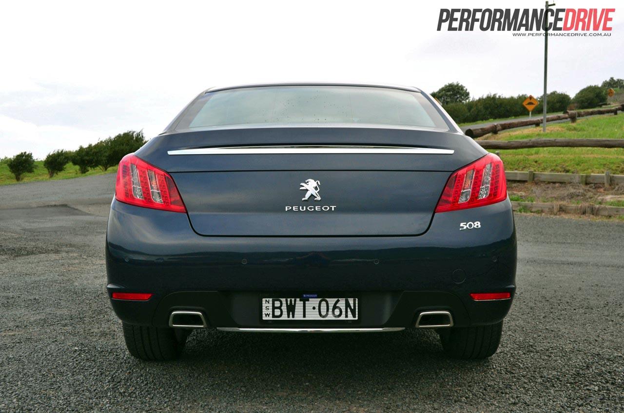 2012 Peugeot 508 Gt Review Performancedrive