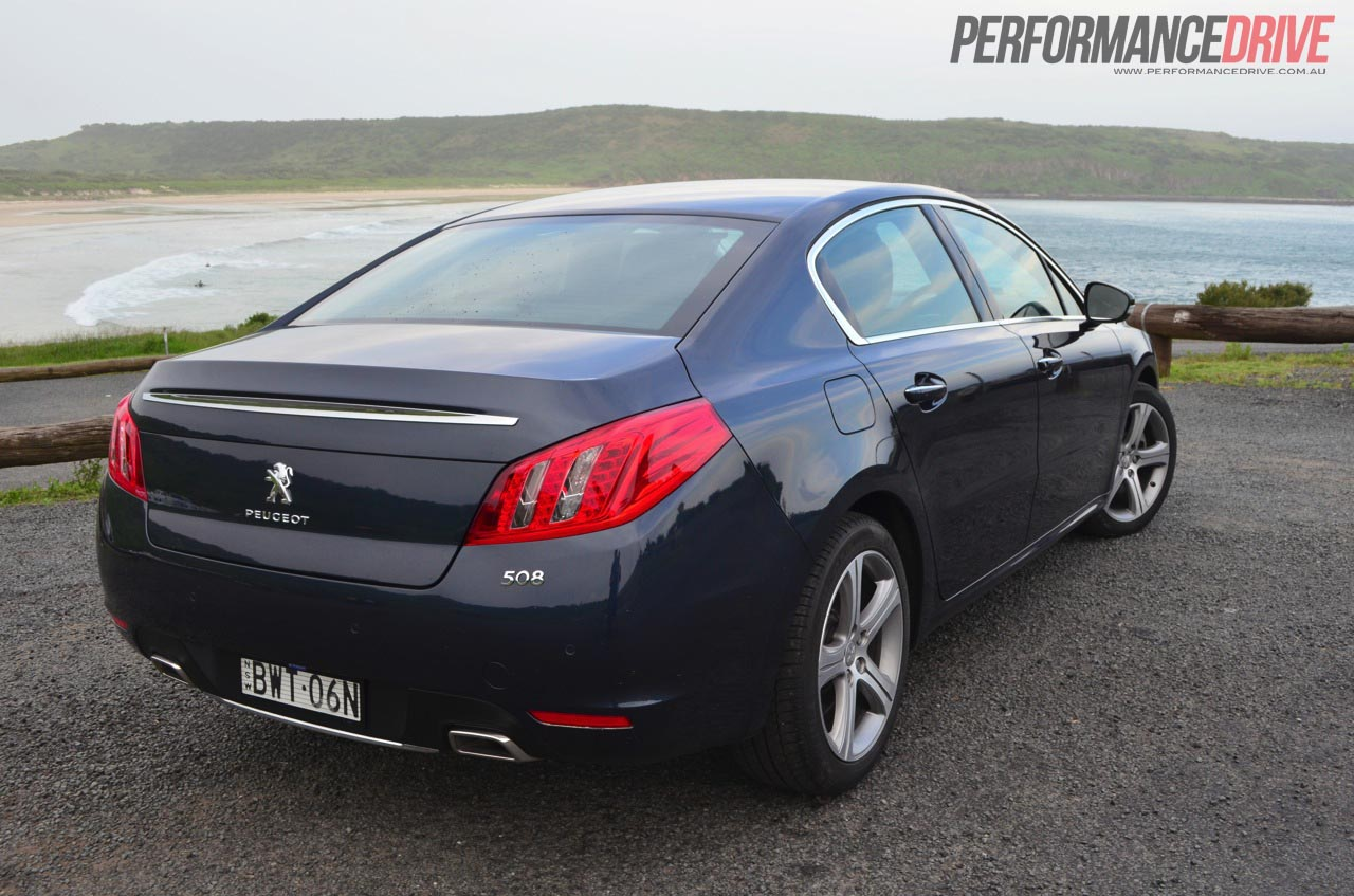 2012 Peugeot 508 Gt Review Performancedrive