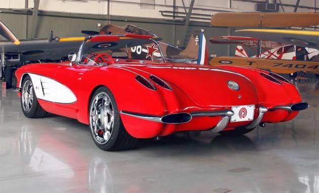 Pogea Racing 1959 Chevrolet Corvette Rebuilt To Modern
