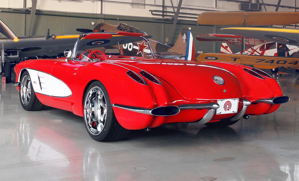 Pogea Racing 1959 Chevrolet Corvette rebuilt to modern ...