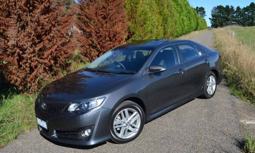 2012 Toyota Camry Atara SX review