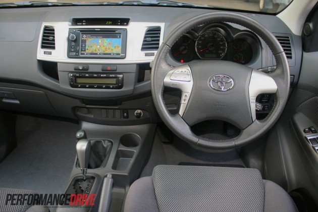 2012 Toyota Hilux Sr5 Review Performancedrive