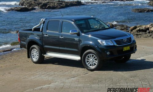 2012 Toyota HiLux SR5 review