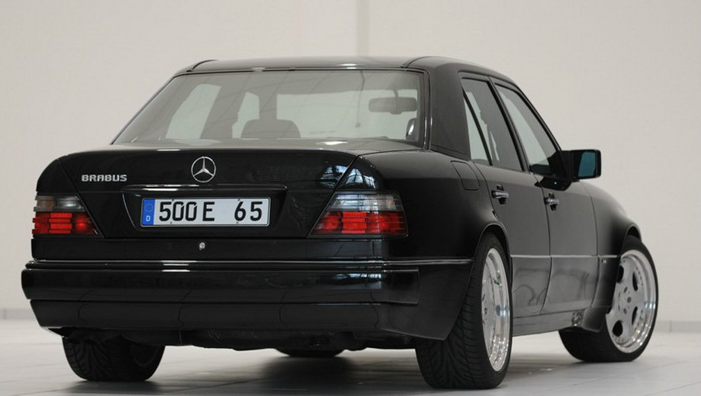 For Sale Brabus 65 Mercedes Benz E 500 With 252km On The