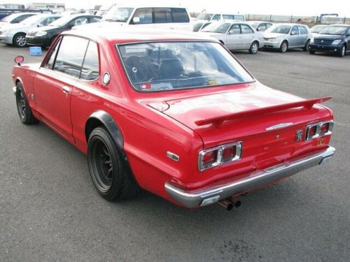 For Sale: 1972 Nissan Skyline Hakosuka 2000GT coupe in