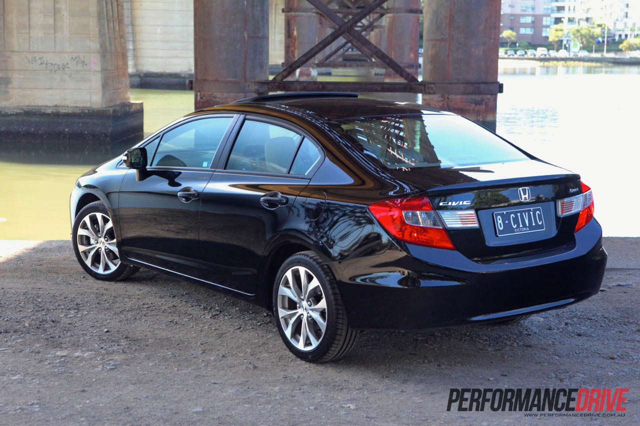 2012 Honda Civic Sport Rear Side