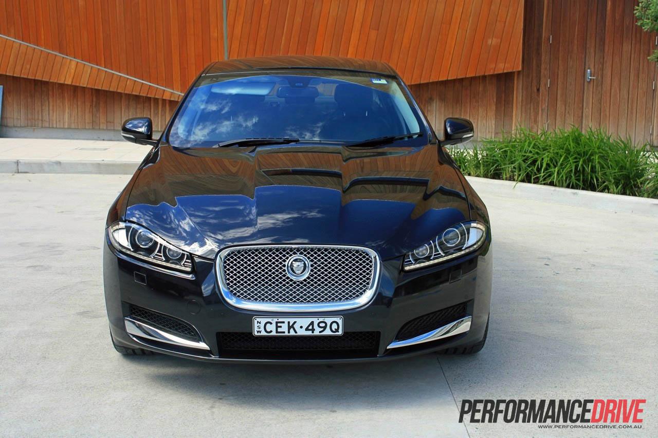 2012 Jaguar XF 2.2D Front