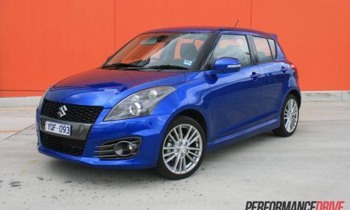 2012 Suzuki Swift Sport review (video)