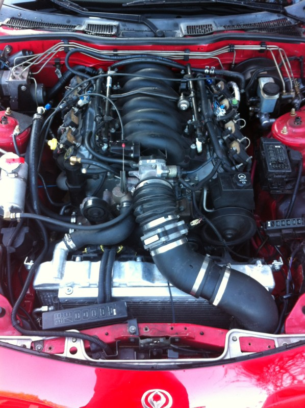 For Sale: 1993 Mazda RX-7 with V8 Chevrolet LS1 conversion ...