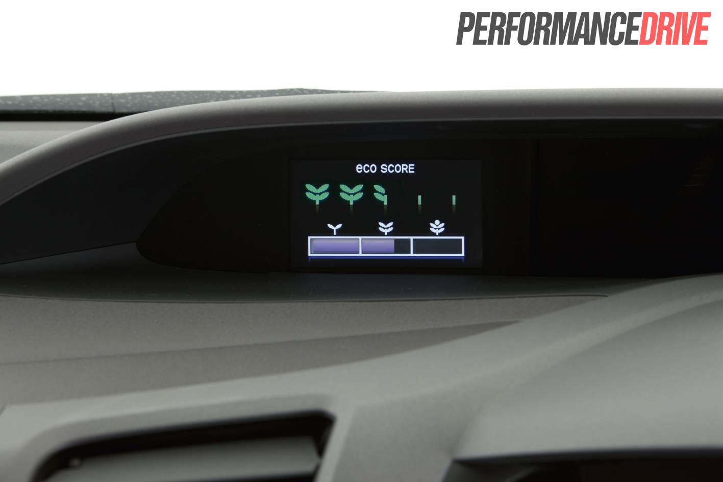 2012 Honda Civic Hybrid Review Performancedrive