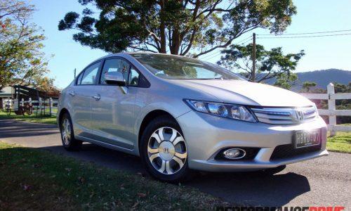 2012 Honda Civic Hybrid review