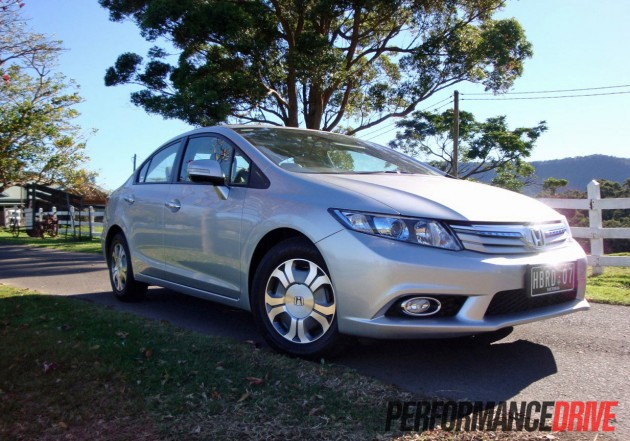 2012 HONDA CIVIC HYBRID ...