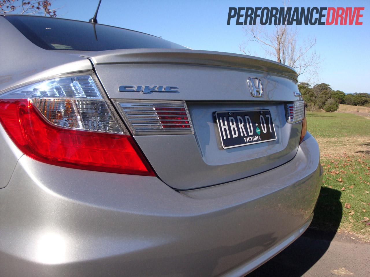 2012 Honda Civic Hybrid Rear Spoiler