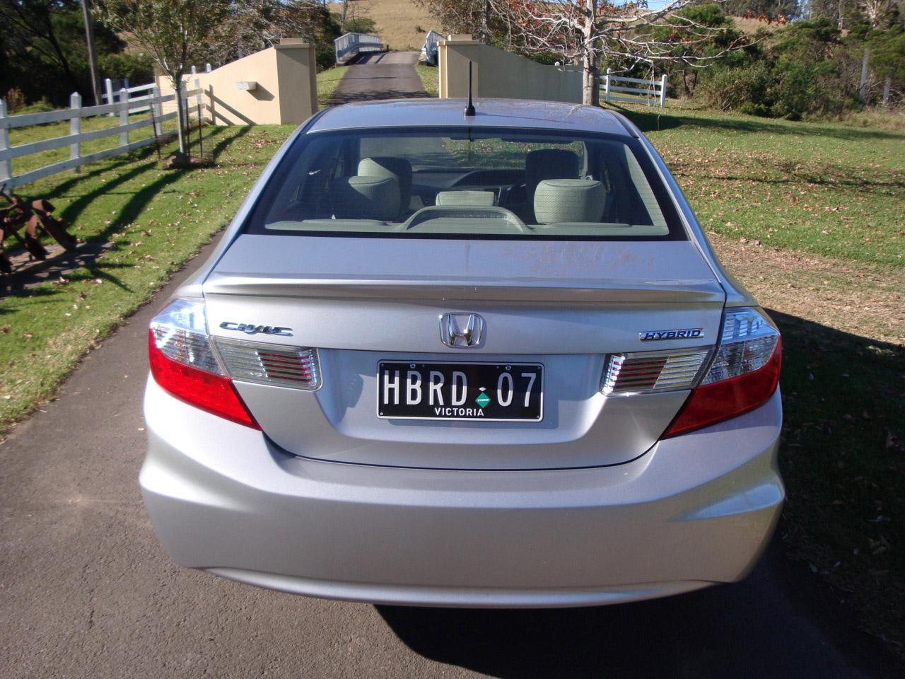 2012 Honda Civic Hybrid Rear
