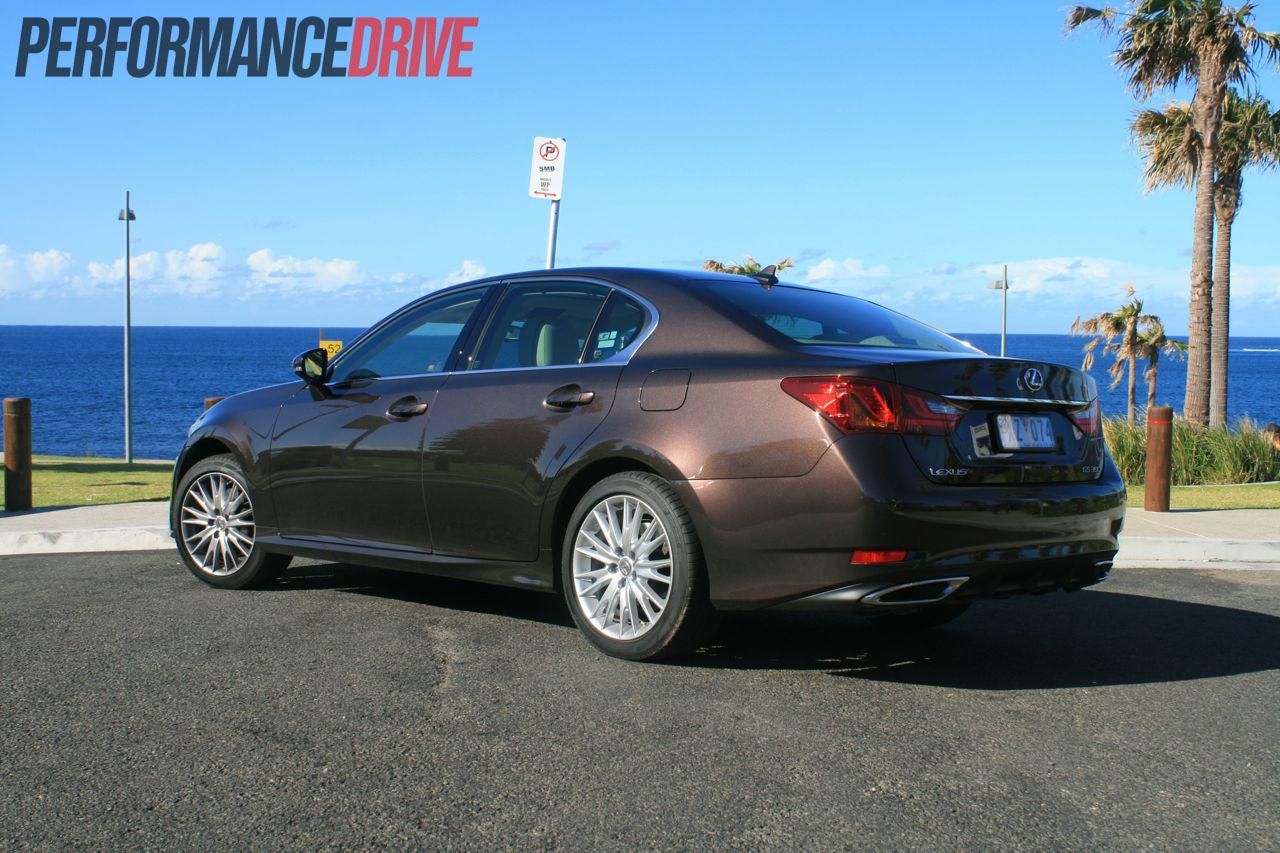 2012 Lexus GS 350 Sports Luxury Side Rear