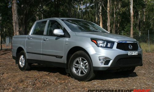 2012 SsangYong Actyon Sports SX review