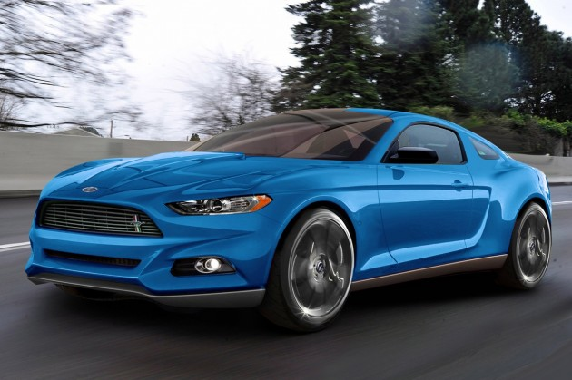 2015 Ford Mustang To Feature Independent Rear Suspension