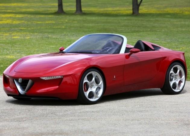 new alfa romeo roadster to be underpinnedmazda platform