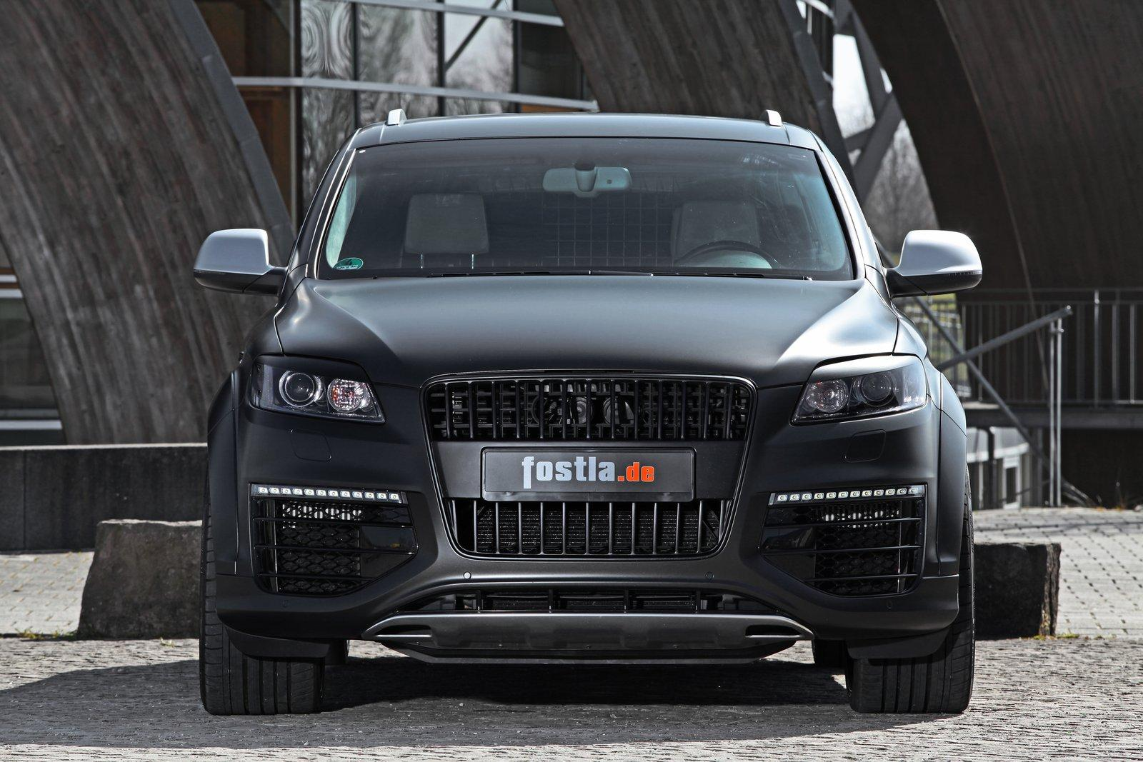 Fostla Audi Q7 V12 Tdi Boosted To 600ps 442kw
