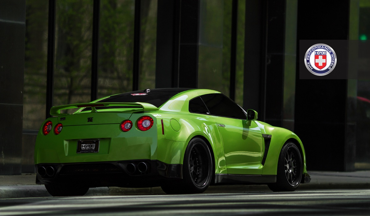 Hre Wheels Nissan Gt R With Widebody Kit And 942hp