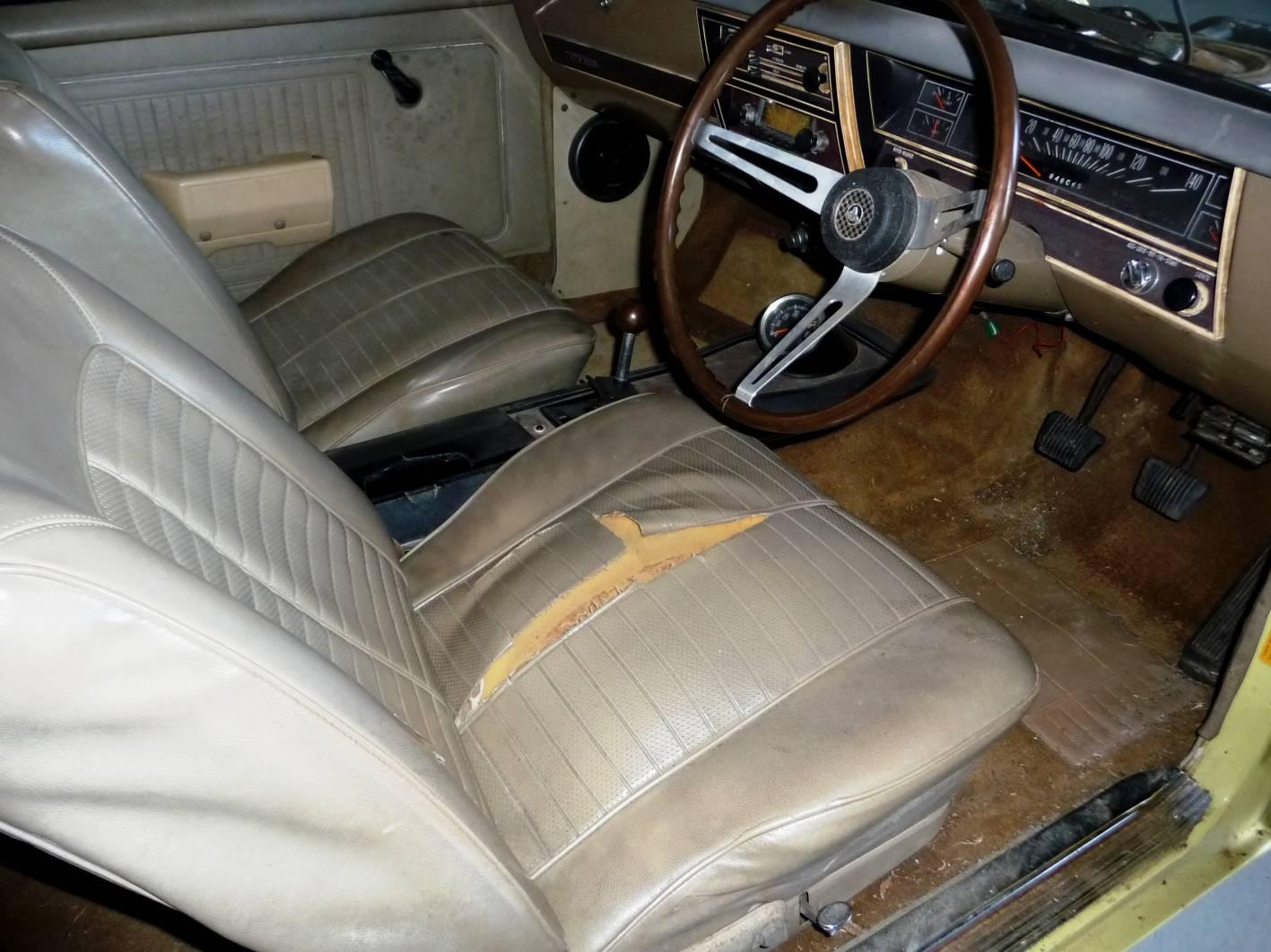 1968 Holden Monaro HK GTS 327 interior MotorEx