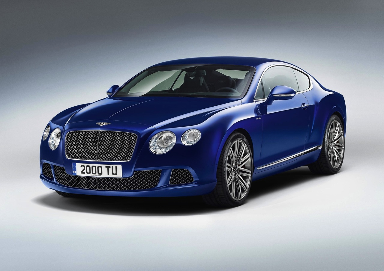 2012 Bentley Continental Gt Speed Unveiled Fastest Model