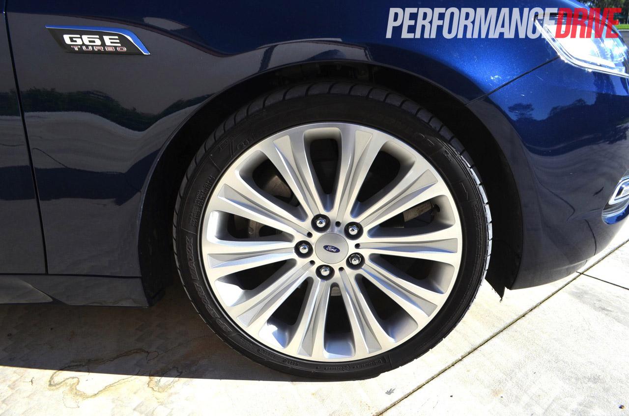 2012 Ford Falcon G6E Turbo FG MKII review (video ...