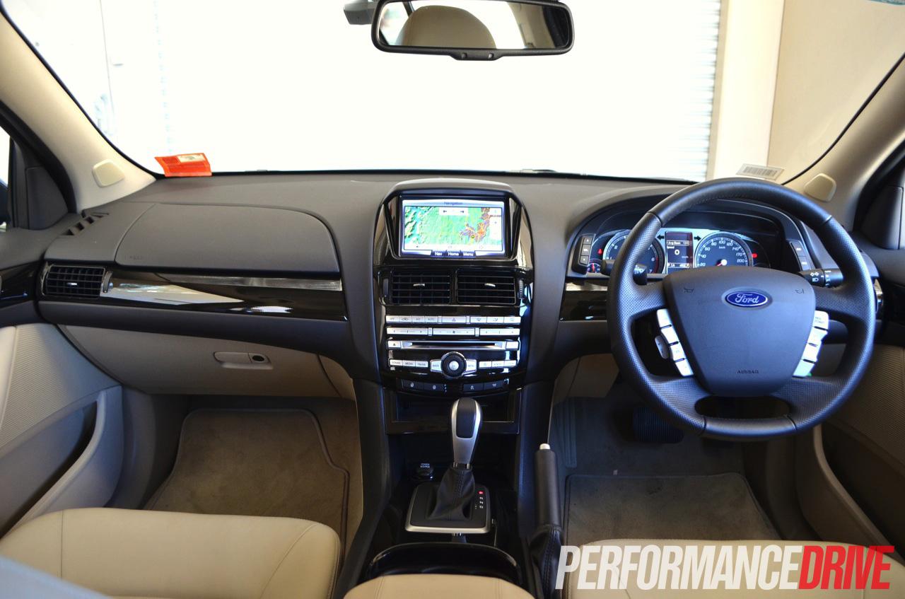 2012 Ford Falcon G6E Turbo FG MKII review (video