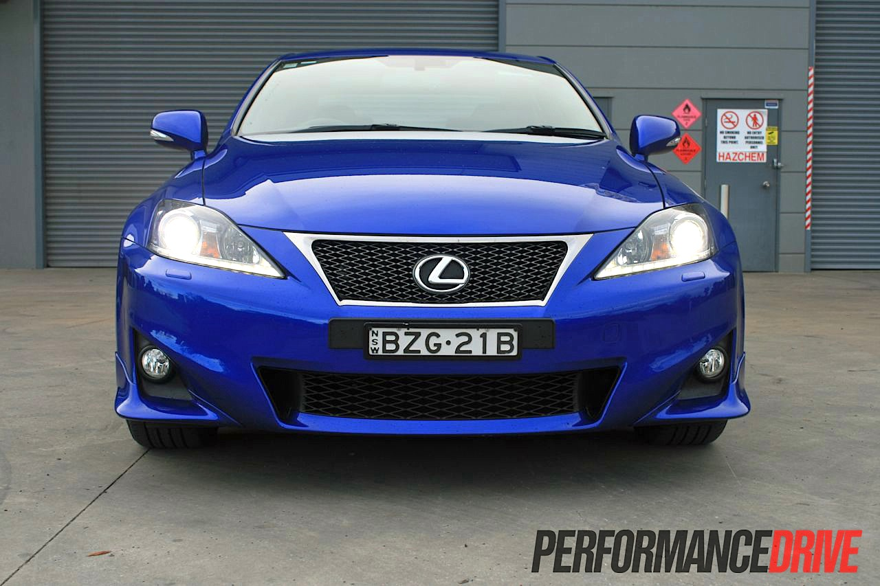 2012 Lexus IS 350 F Sport review - PerformanceDrive