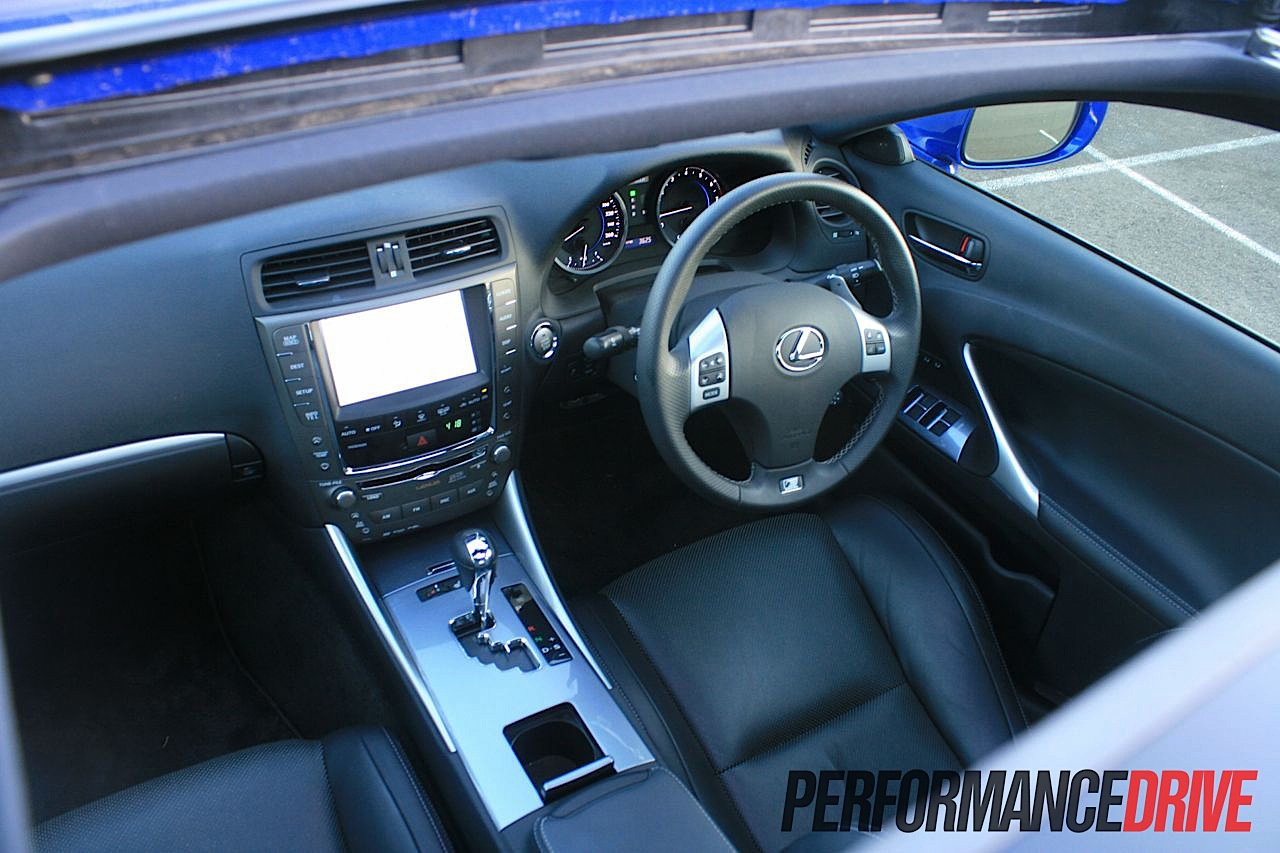 2012 Lexus IS 350 F Sport Sunroof