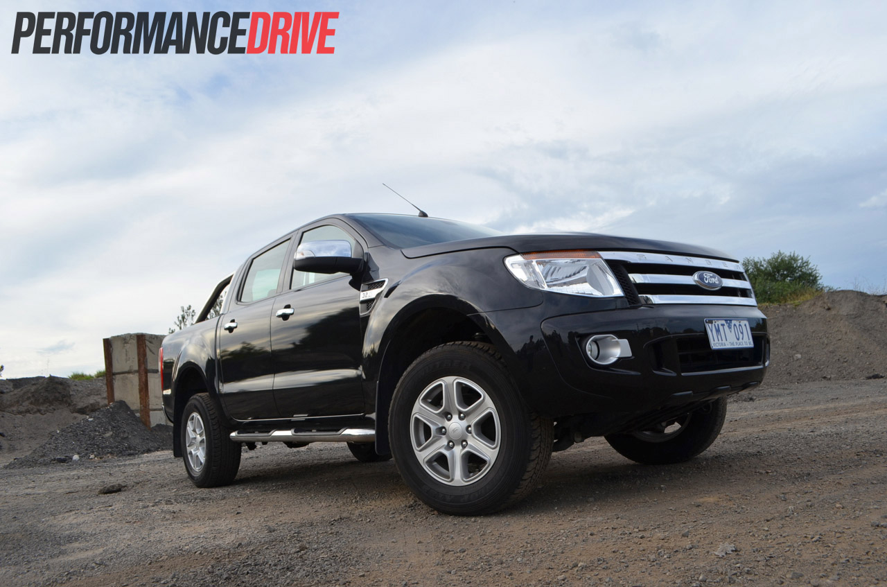 ford ranger xlt double cab review performancedrive