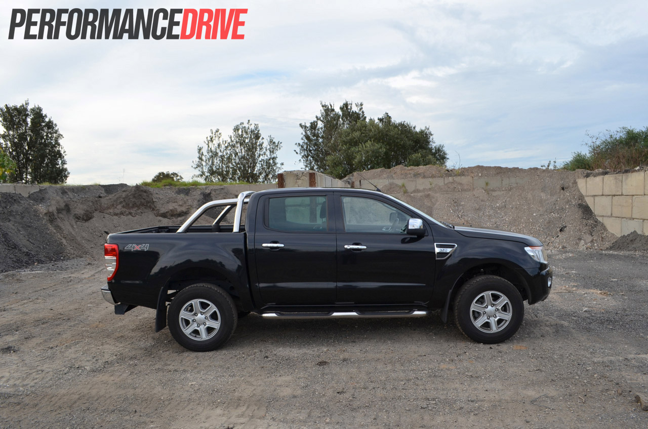 2012 ford ranger xlt double cab side